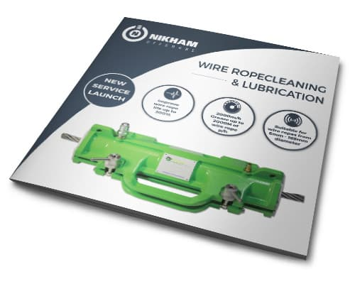 Nikham Offshore Wire Rope cleaning lubricatin services brochure